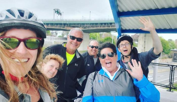 Buffalo Bike Tours group shot