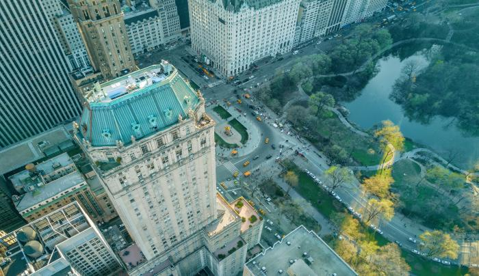 Hotel and Central Park