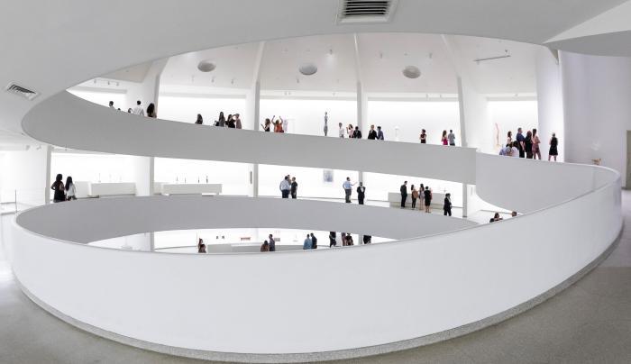 Solomon R. Guggenheim Museum interior