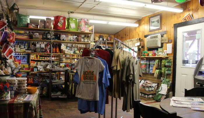 Shopping at the Adirondack Trading Post