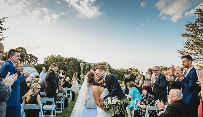 Wedding at The Mansion's Patio