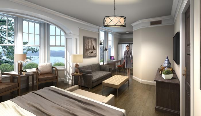 Abbey Inn Peekskill guestroom 2