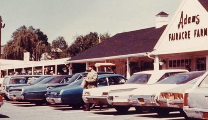 Adans Fairacre Farms Old Car Store Photo