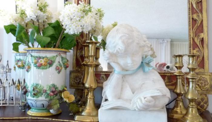Inside Amanda Bury Antiques