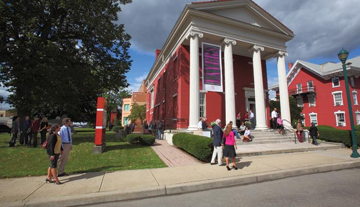 Artnot Art Museum in Downtown Elmira
