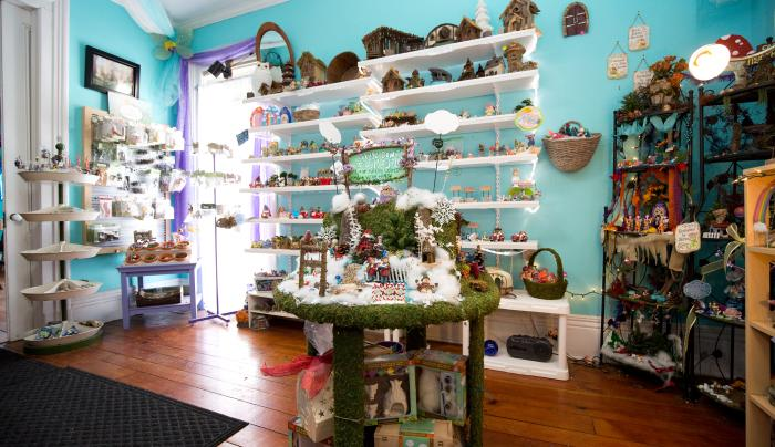 Interior of The Artful Fairy in Victor