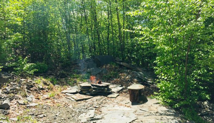 Peak Site Fire Pit