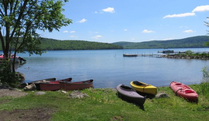 Canoe's and Kayak's at the Bayside Inn & Marina Cooperstown