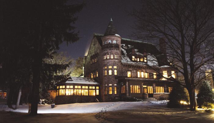 Belhurst Castle Winter Evening