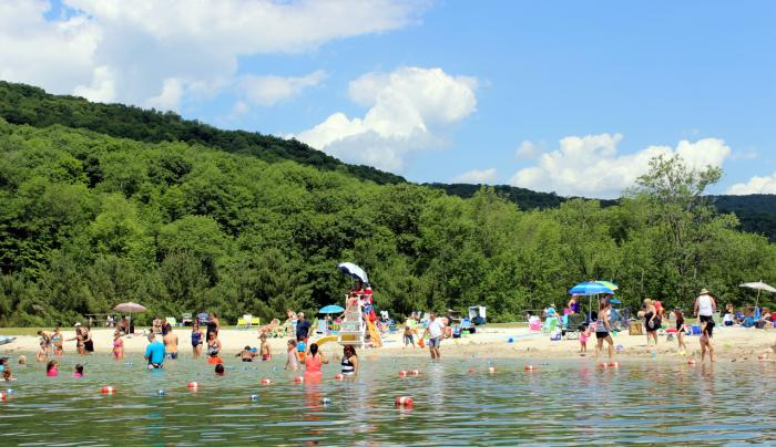 Belleayre Beach at Pine Hill Lake - Photo Courtesy of Belleayre Mountain Ski Center