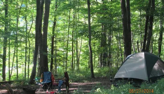 Primitive Tenting