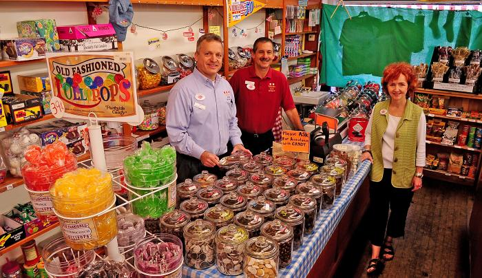 Vidler's Candy Counter