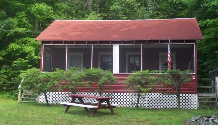 exterior cabin