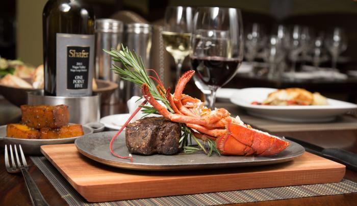Black & Blue Steak and Crab - Filet with Half Lobster