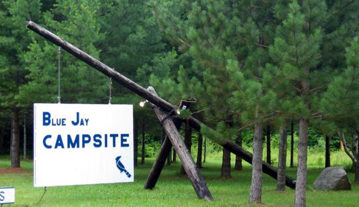 Blue Jay Campsite, Tupper Lake, Adirondacks