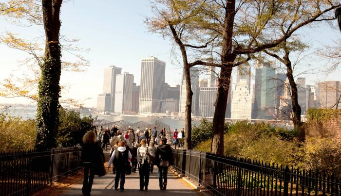Brooklyn Heights Promenade_ Photo by Myrna Suarez - Courtesy of NYC & CO