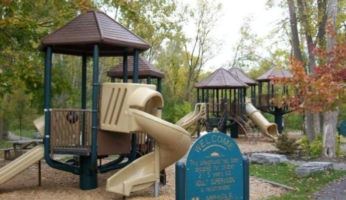 Charles E. Burchfield Nature & Art Center Playground