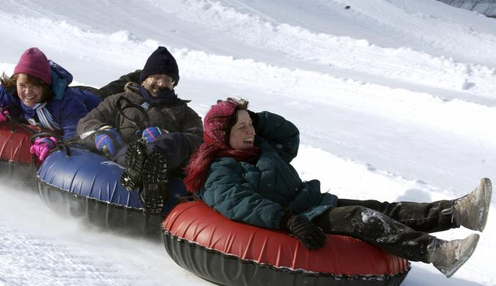 Snow Tubing at Hunter Mountain