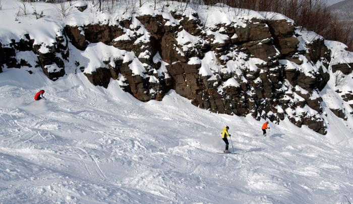 Skiing at Hunter Mountain