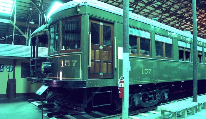 Interurban trolley 157