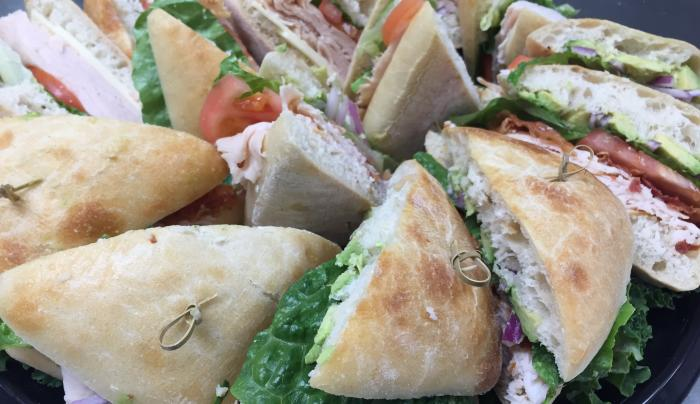 Large Sandwich Catering Tray