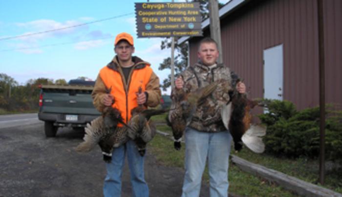 Cayuga Tompkins Cooperative Hunting Area