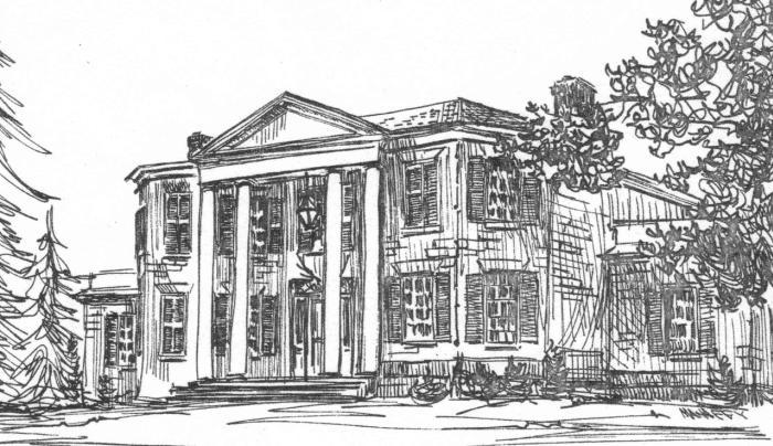Constable Hall Sketch