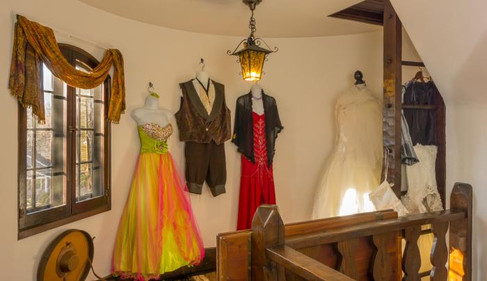 Costumes in the Turret