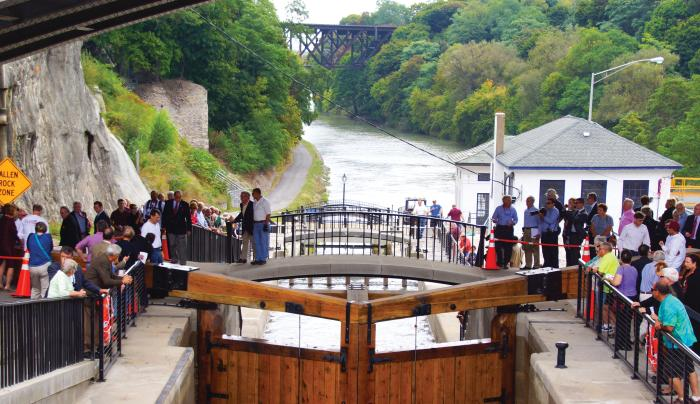 Erie Canal Flight of Five Reconstruction Tour