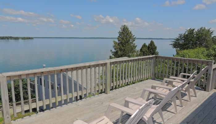View from cottage #10 deck