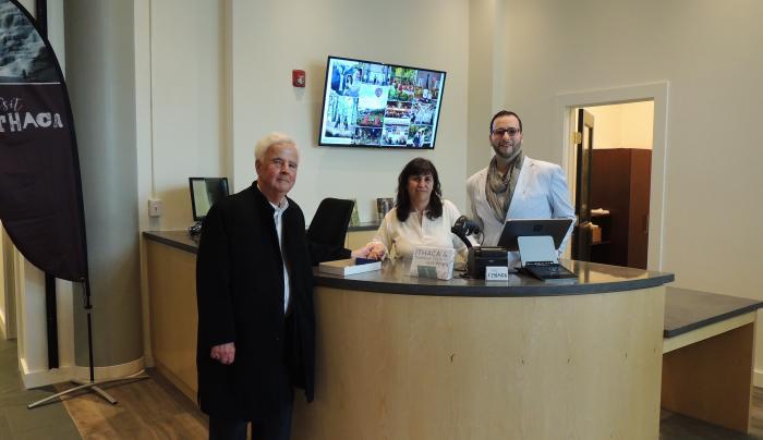 Downtown Visitor Center Desk