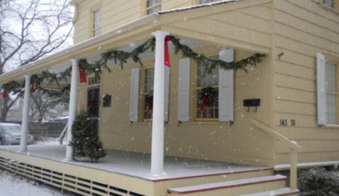 Kingsland Homestead in Winter