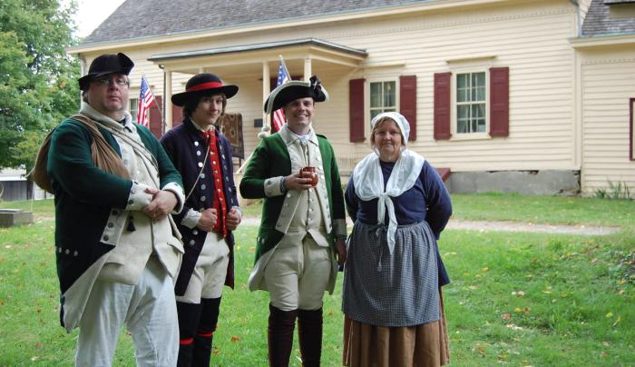 Van Wyck Rev War Weekend with house