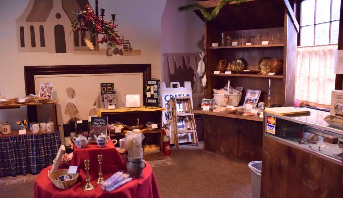 Crailo State Historic Site gift shop