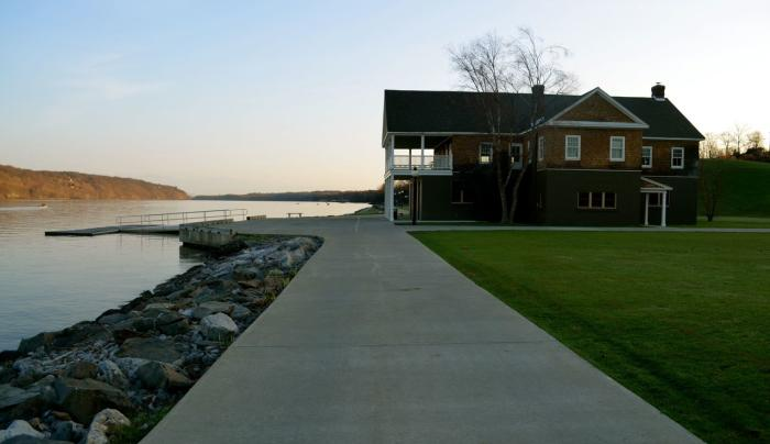 Marist - boathouse