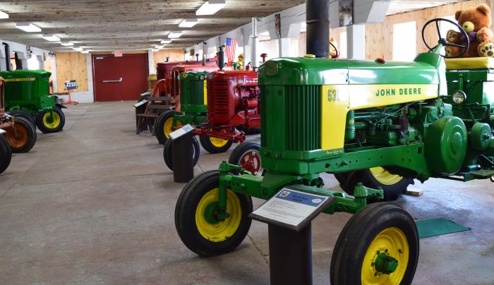 Tractors of Yesteryear at the CNY Living History Center
