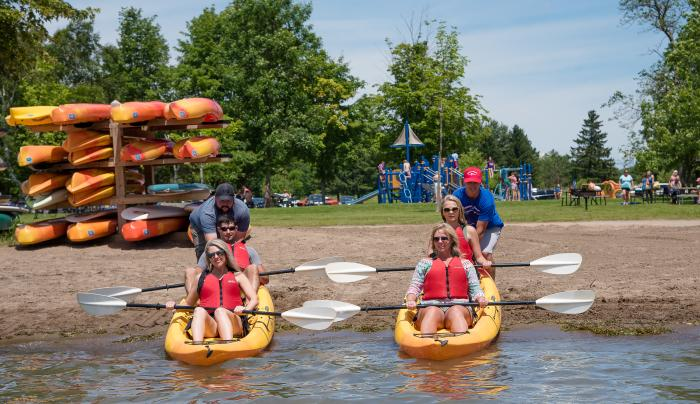 Boat Rentals at Glimmerglass State Park
