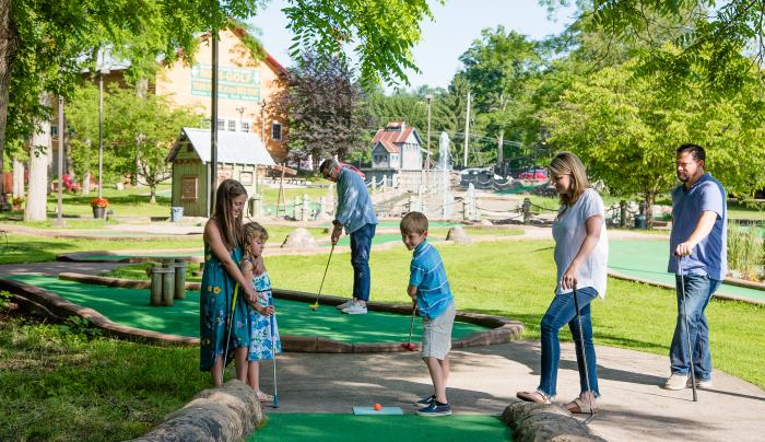 Family Mini-Golf