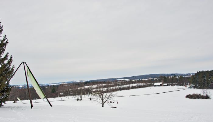 Stone Quarry winter