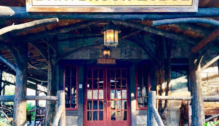 Dartbrook Lodge entrance