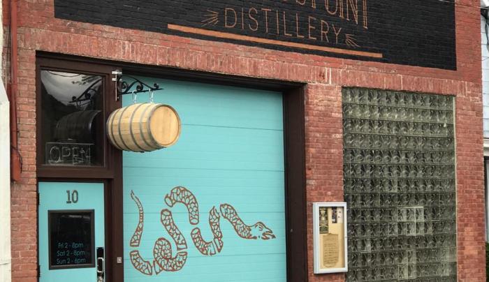 Dennings Point Distillery Sept 2018