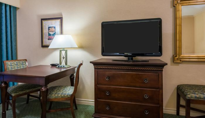 Guest Room TV & Desk