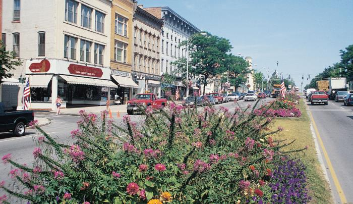 Downtown Main St. Canandaigua