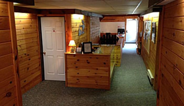Room at the EVL Lodge