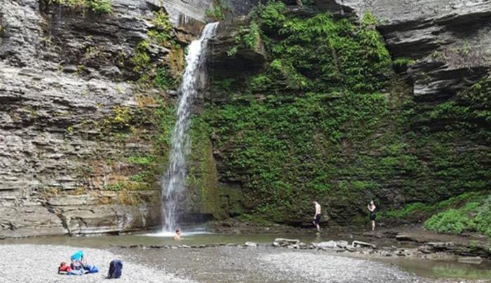 Eagle Cliff Falls at Havana Glen