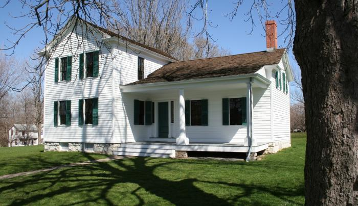 Elizabeth Cady Stanton House Photo Courtesy of National Park Service