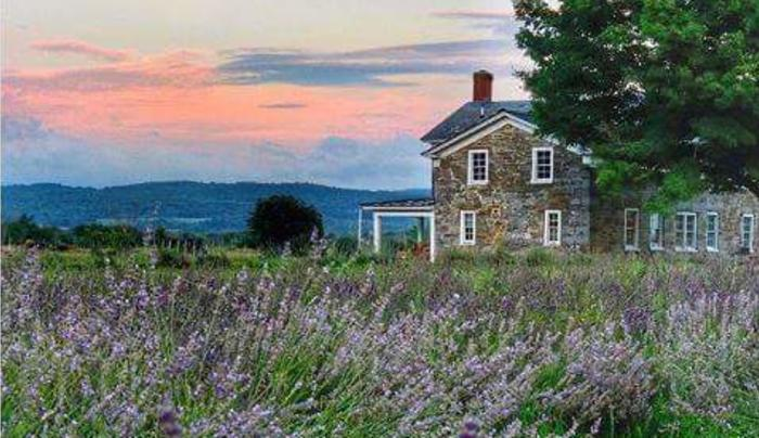 1820 House at Lavenlair Farm