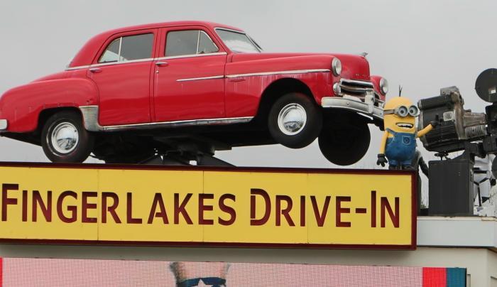 Fingerlakes Drive-In, photo by Paul Meyer