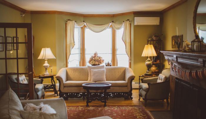 Living room at Albergo Allegria