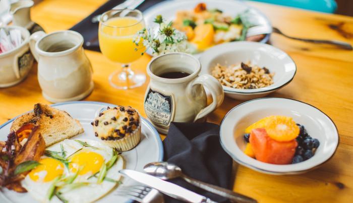 Breakfast at Albergo